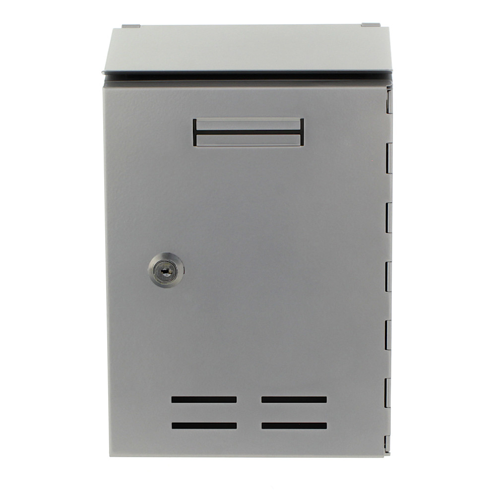 Pro First Mailbox 500 Post Box Silver